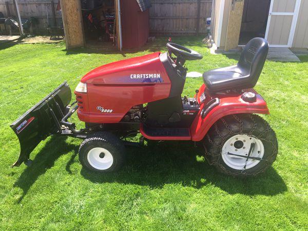 Craftsman Garden Tractor for Sale in Norton, OH - OfferUp