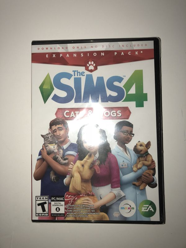 The Sims 4: Cats and Dogs- PC edition WIN/MAC for Sale in Chula Vista, CA -  OfferUp