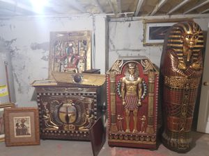 Furniture Ancient Egyptian themed for Sale in Newington, CT