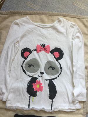 20947c0112 Girls outfit panda top   Jeggings Sz 7 for Sale in Smyrna