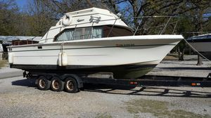 1978 Carver Cabin Cruiser 28 ft Two 305 motors. For sale or trade as is. $2000 for sale  Langley, OK