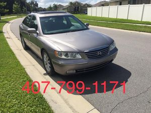 2006 HYUNDAI AZERA LIMITED Clean title •Cold A/C•Leather seat Heat From Seats Memory Seats • 130k Miles•Sunroof•Alloy Wheels PRE-BLACK FRIDAY DEALS for Sale in Orlando, FL