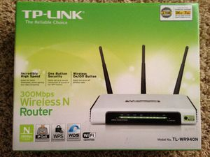 TP link 300 Mbps wireless N router $20 OBO for sale  Fayetteville, AR