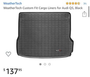 Photo Weathertech Audi Q5 custom fit floor mats