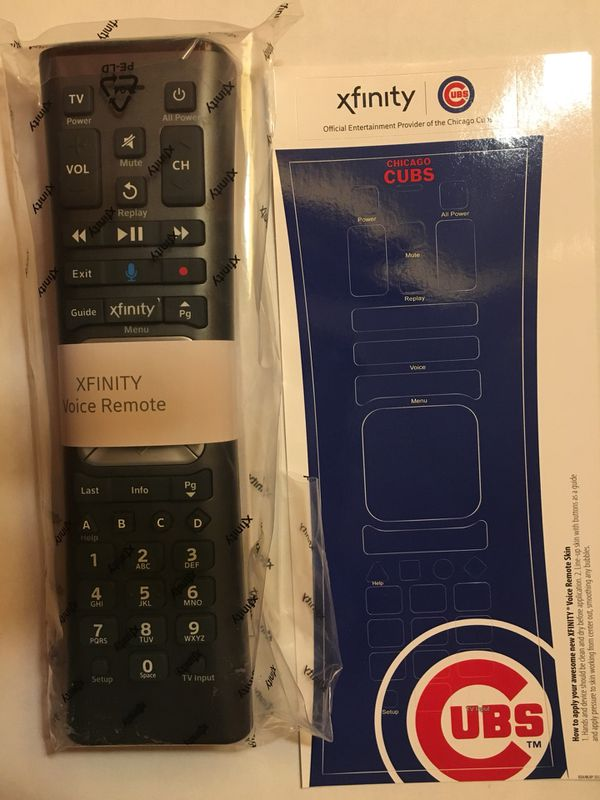 Xfinity voice control remote Cubs for Sale in Niles, IL - OfferUp