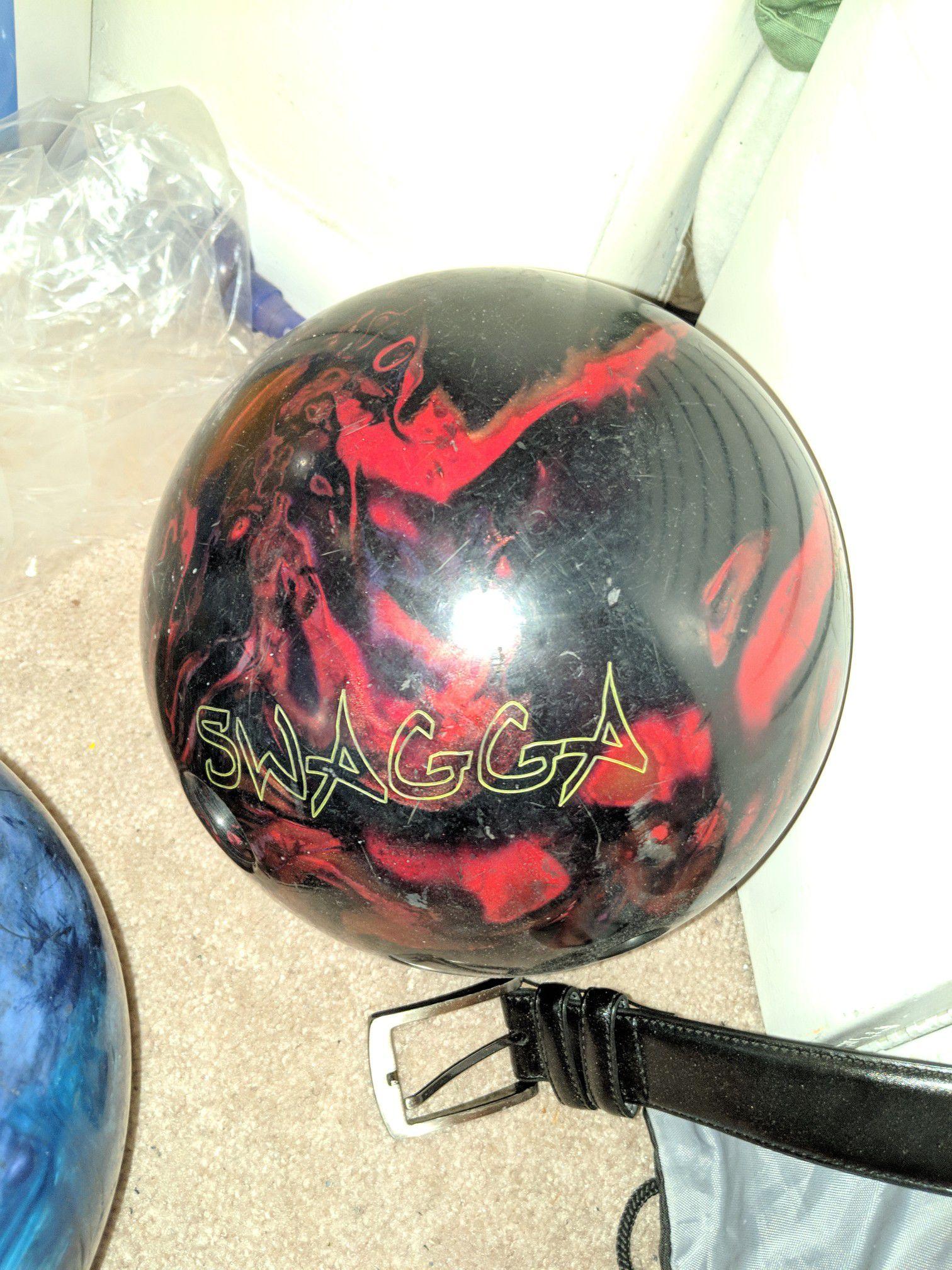 Swagga bowling ball
