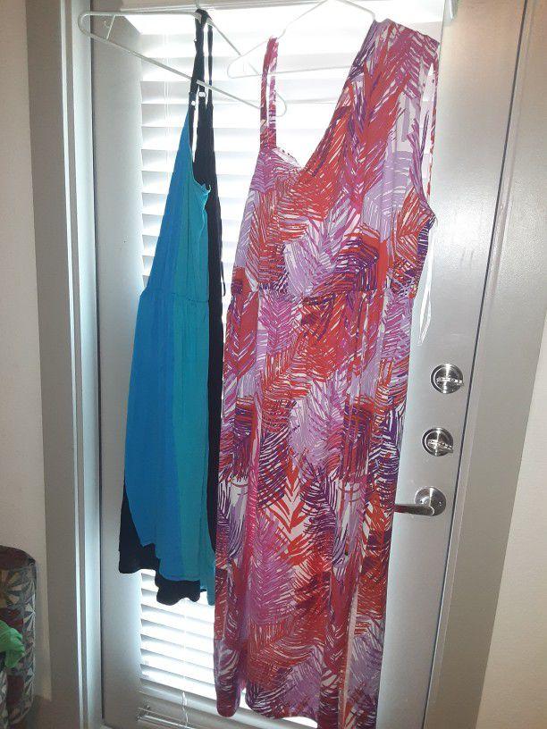 plus size dresses/shirts