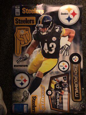 FATHEAD STICKER!!!! Pittsburgh Steelers!!!! for Sale in Woodbridge, VA