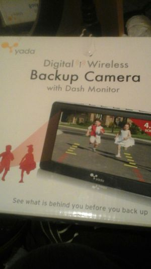 Digital Wireless Backup Camera with Dashboard Monitor for Sale in Phoenix, AZ