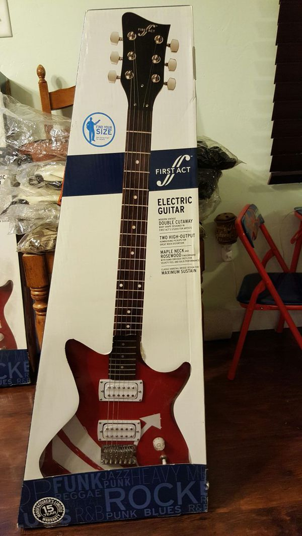 First Act Kei Shape Single Cut Guitar Me579 Brand New
