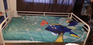 Ikea twin bed with air mattress for Sale in Silver Spring, MD