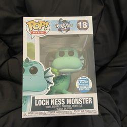 Lock Ness Monster Funko Pop Myths Line Funko Shop Exclusive  Thumbnail