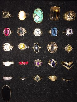 Stunning Gold Rings 10k & 14k Thumbnail