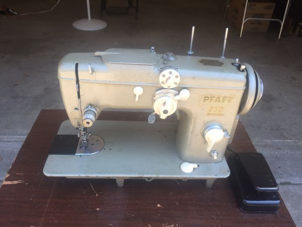 PFAFF 40 INDUSTRIAL SEWING MACHINE AUTOMATIC DIALASTITCH For Sale Enchanting Pfaff 230 Sewing Machine For Sale