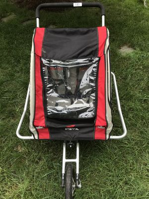 Bike stroller, excellent condition, can be used for one or two seaters for Sale in Vienna, VA