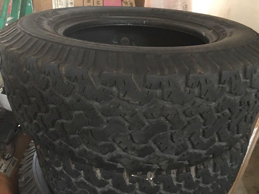Tires 18 bfgoodrich