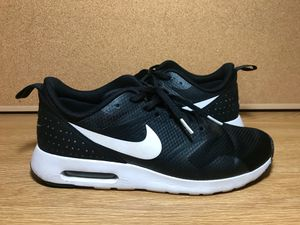 1a78cf7bae21f ... greece mens nike air max tavas running shoes black white size 10 great  condition for sale