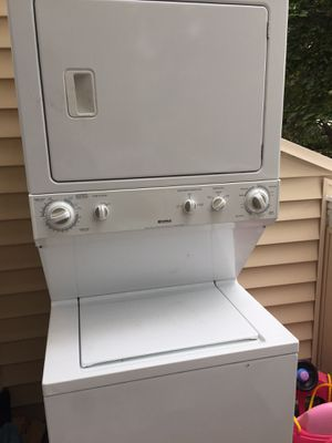 Kenmore stack up laundry $200 or close offer for Sale in Germantown, MD