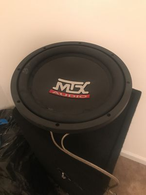 Mtx terminator subwoofer 12in for Sale in Apex, NC