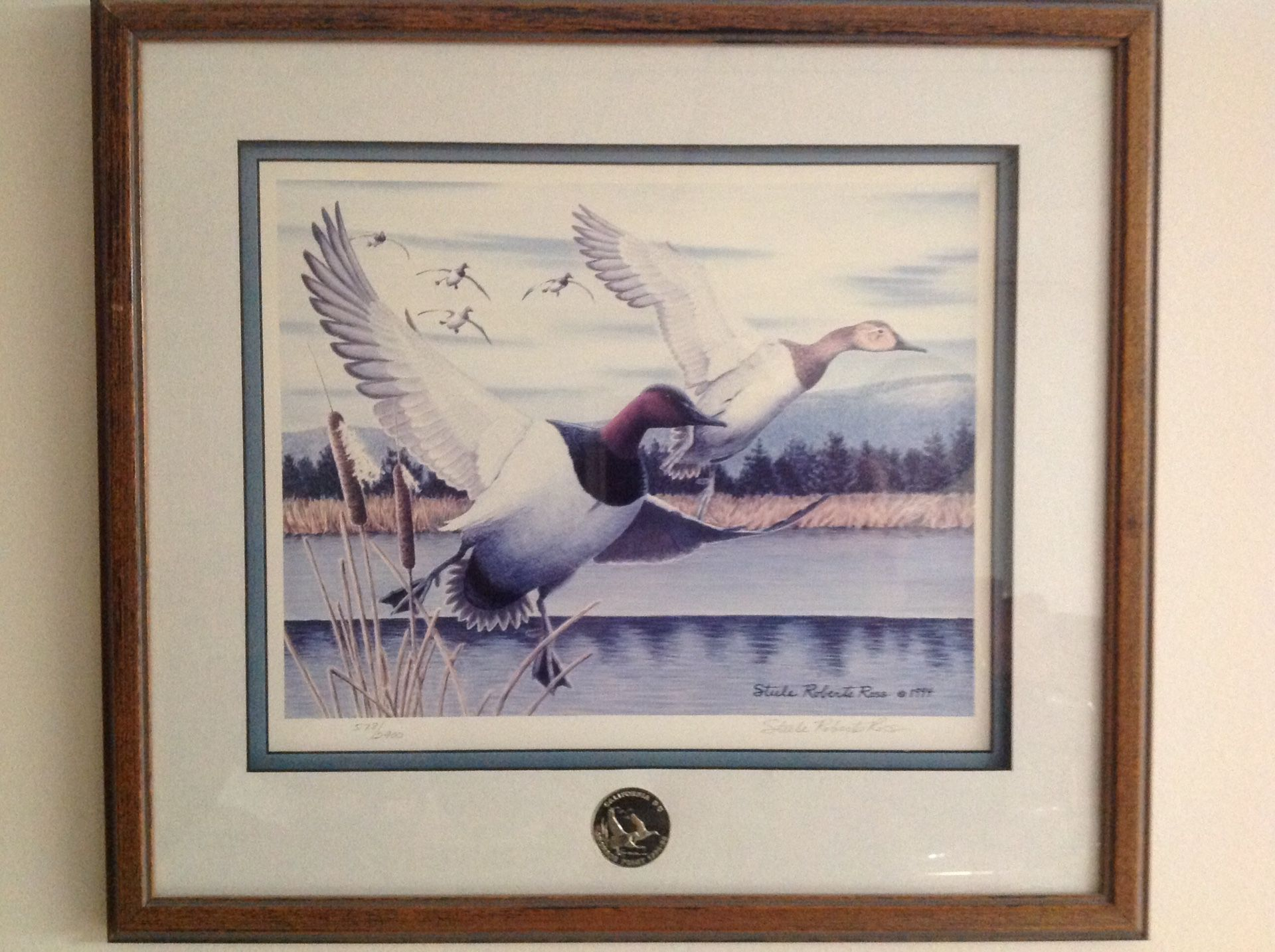 Ducks Unlimited limited edition paintings