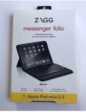 Zagg messenger folio ipad mini 2/3 for Sale in Los Angeles, CA