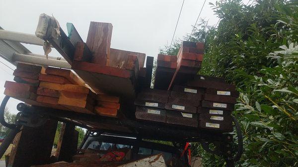 Building materials, pressure treated, cedar, Doug fir for ...