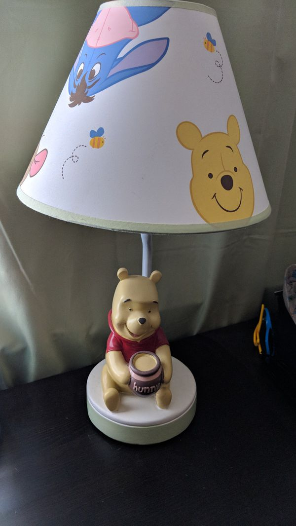 Winnie the pooh lamp baby kids in watsonville ca offerup mozeypictures Images