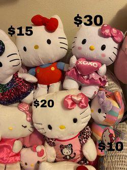 Hello Kitty Plushes Thumbnail