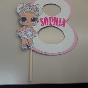 Personalized Birthday Cake Cupcake Toppers For Sale In Las Vegas NV