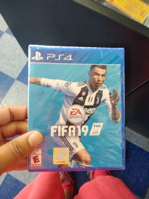 PlayStation 4 FIFA 19 for Sale in Dallas, TX