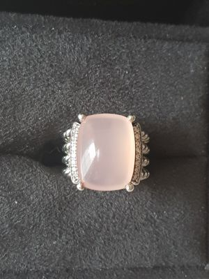 David Yurman Wheaton Rose Quartz Diamond Ring for Sale in Aldie, VA