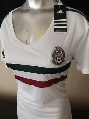 099f7b532 Adidas women Mexico soccer jersey playera mujer World cup 2018 (Sports    Outdoors) in Compton