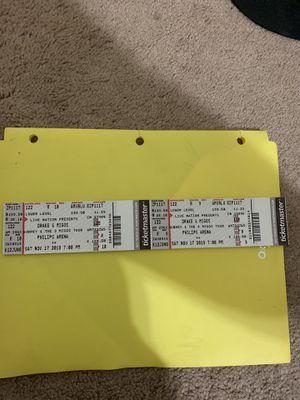 Aubrey and the three migos tour Saturday for Sale in Atlanta, GA