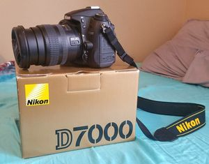 Nikon D7000 and 18-70mm f/3.5-4.5G ED IF AF-S DX Nikkor Zoom Lens for Sale in Seattle, WA