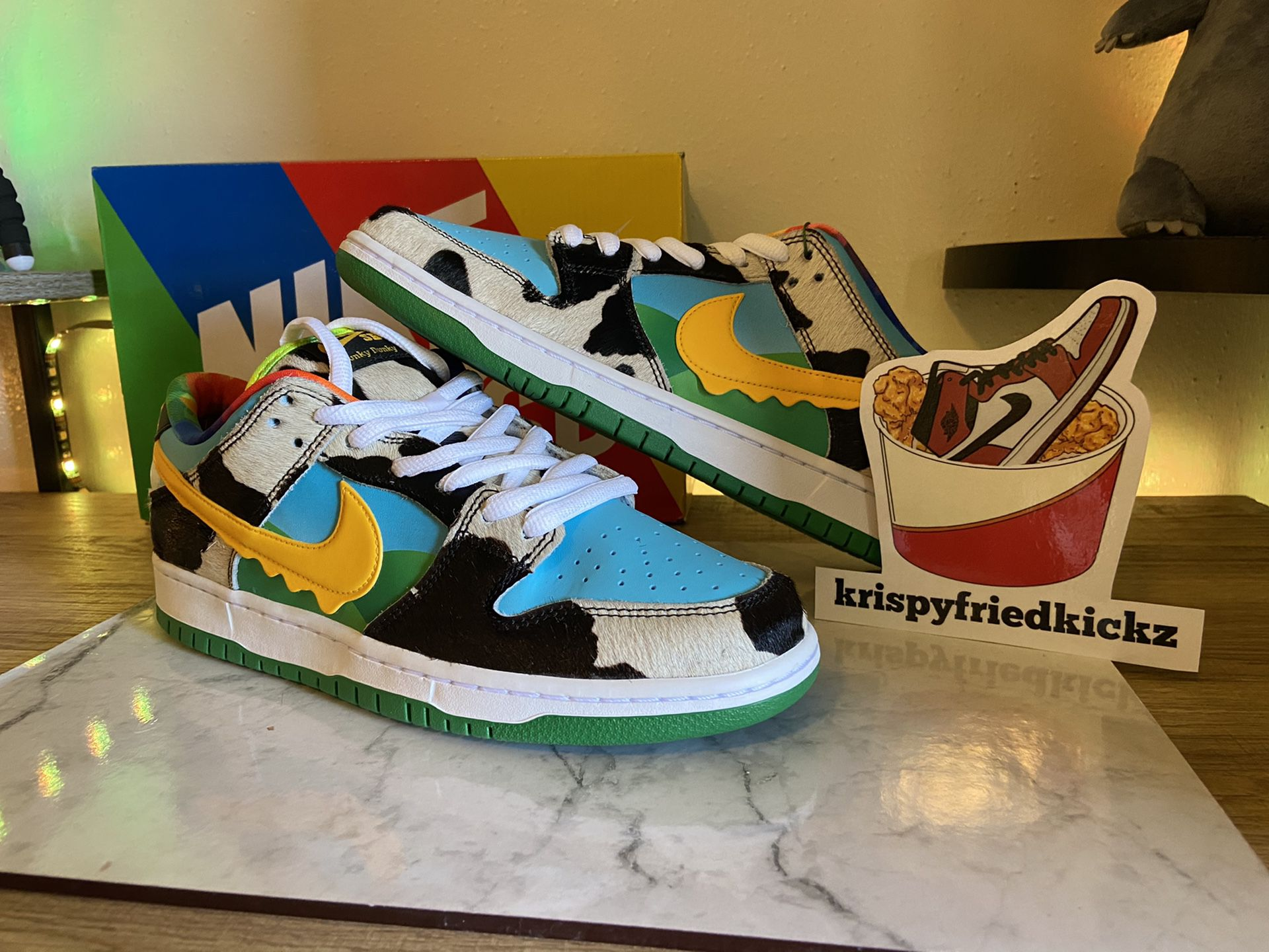 Ben & Jerry's Chunky Dunky Nike SB Dunk Size 9