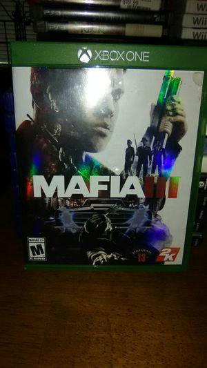 MAFIA III XBOX 1 for Sale in Sanford, FL