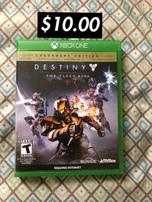 Destiny: The Taken King Legendary Edition [XBOX ONE] for Sale in Washington, DC