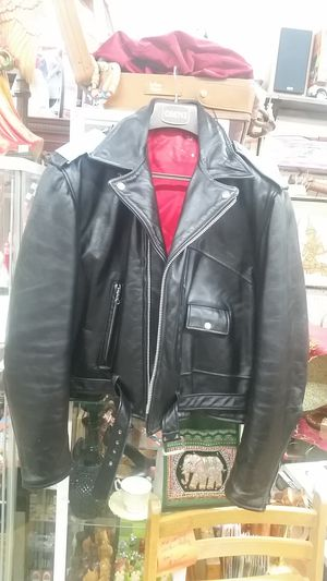 Vintage Moto Marlon Brando Wild Ones Ramones jacket size large for Sale in Gaithersburg, MD