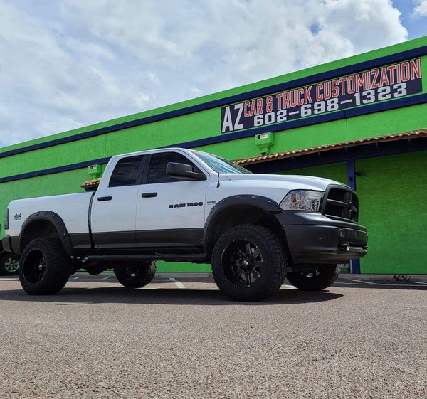 Lift Kit Wheels Tires Side Steps For TRUCK JEEP For Sale