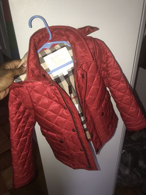 Toddler Burberry Jacket for Sale in Washington, DC