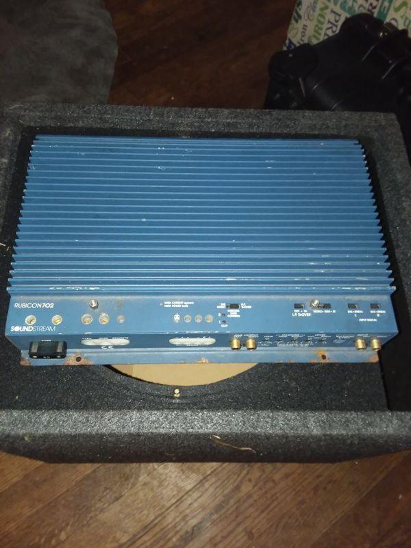 Old school Soundstream Rubicon 702 for Sale in Richmond, VA - OfferUp