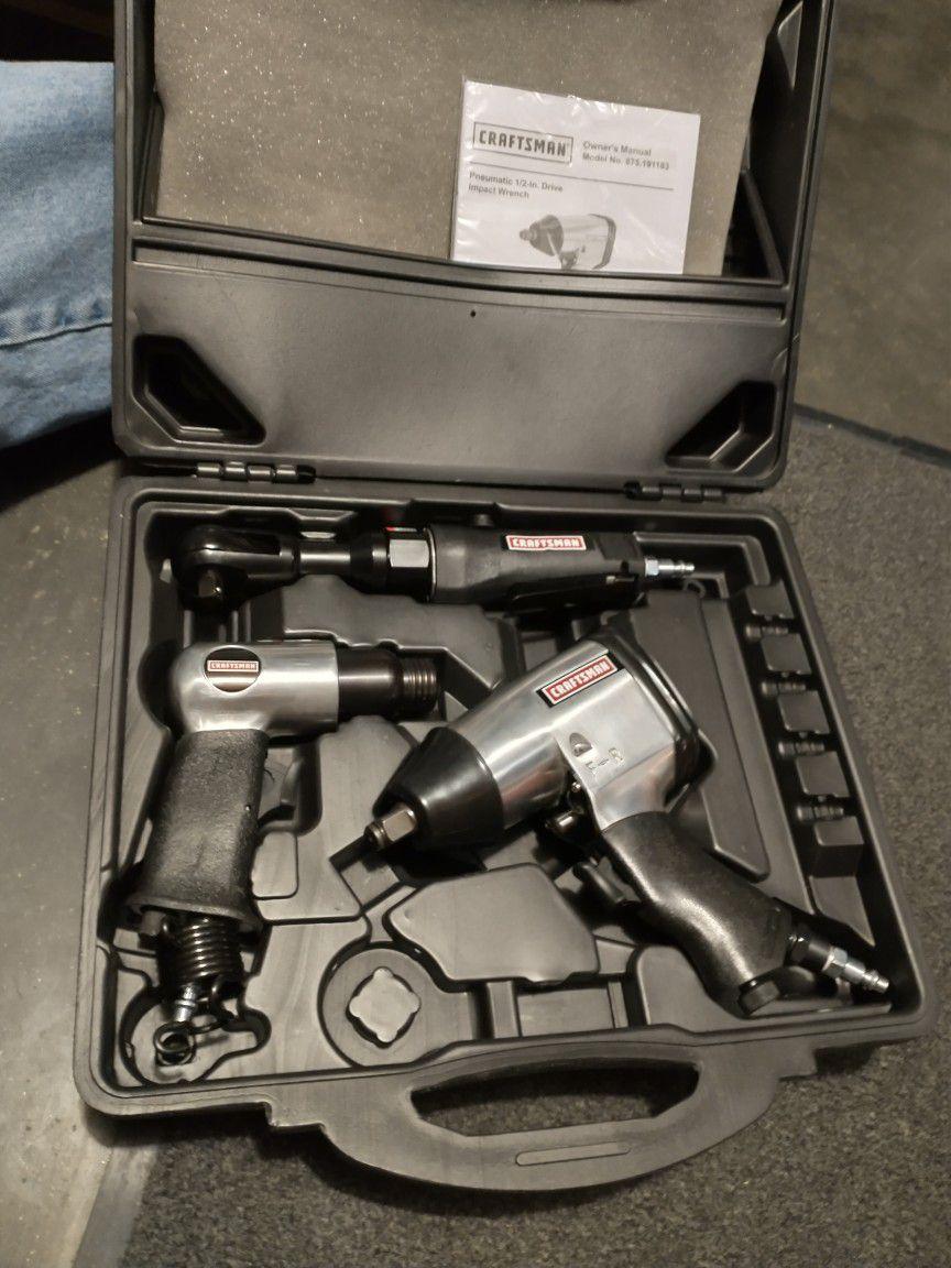 Brand New (Never Used) Craftsman Set of Nuematics Tools $80.00