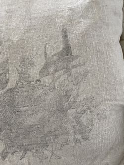 Tattered And Torn Square Toss Pillow Thumbnail