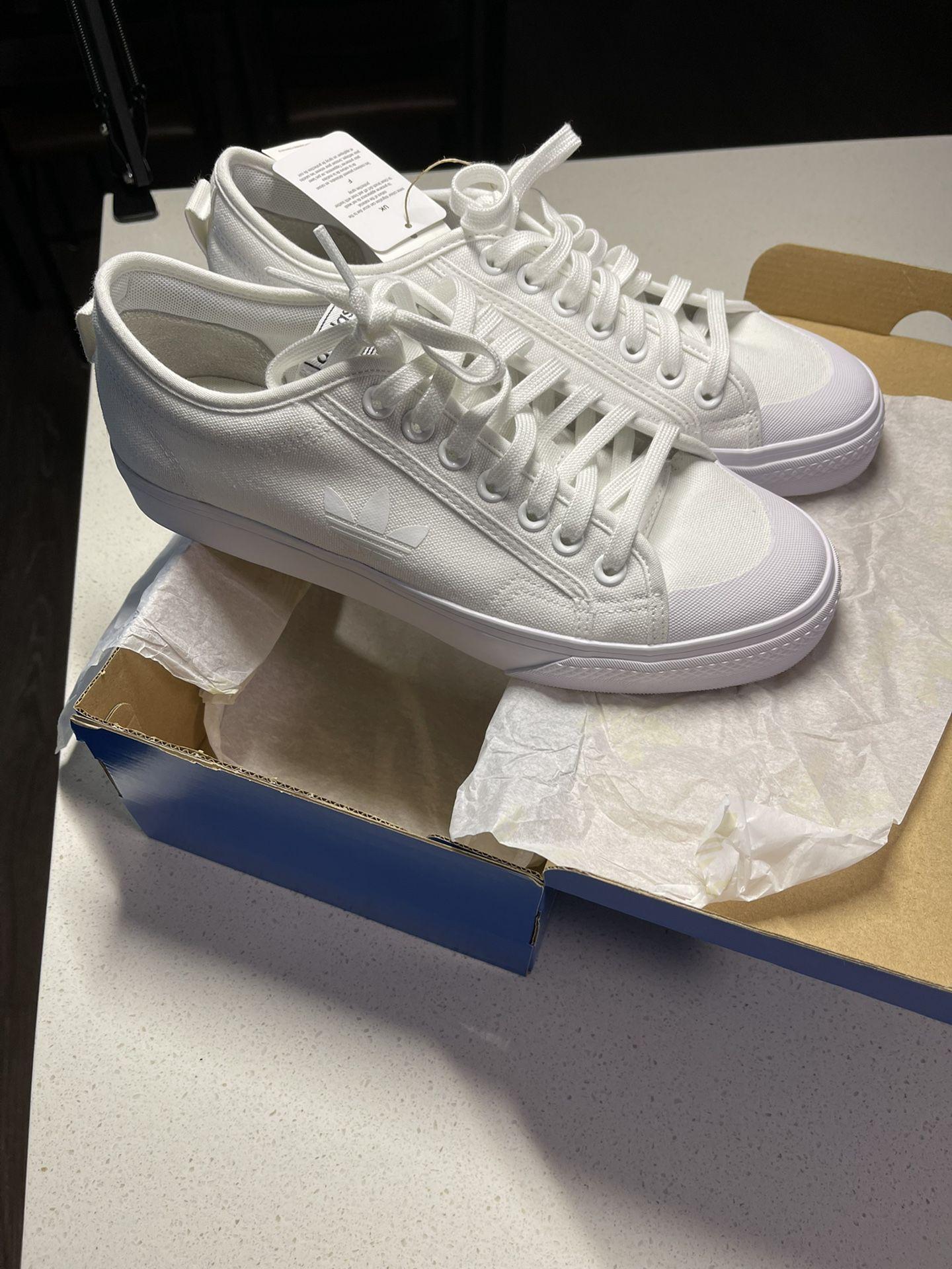 Adidas Niza Trefoil Triple Cloud White