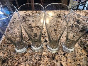 Set of 4 extra large beer glasses steins for Sale in Washington, DC