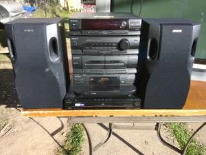200 Watts Sony stereo system with Bluetooth for Sale in Washington, DC