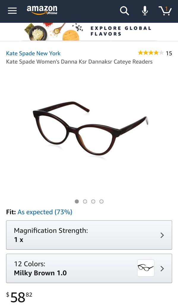 63ca3dd579 Kate spade New York reading glasses +1.25 for Sale in Orange