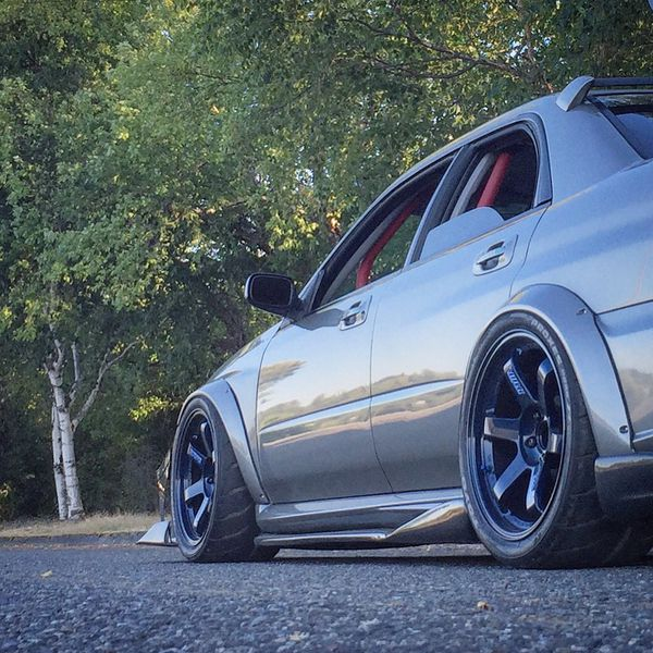 Te37 OG Mag Blue 18x10.5 +15 , No Tires For Sale In