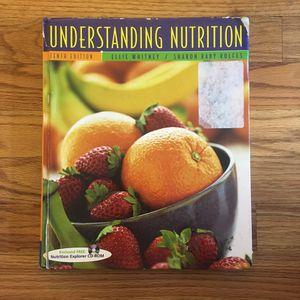 Understanding Nutrition Textbook for Sale in Detroit, MI