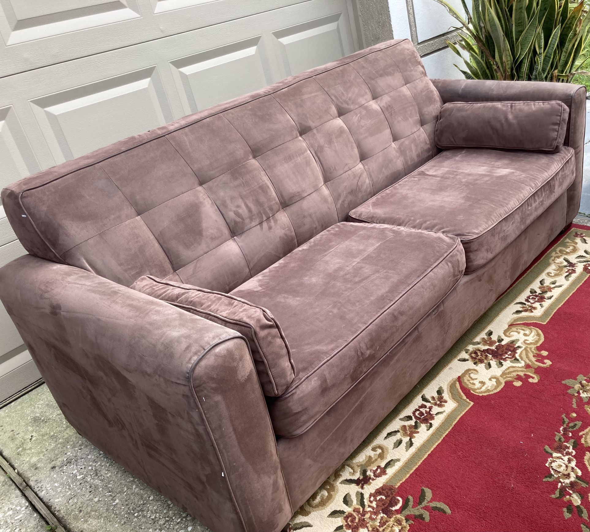 Taupe/ Light Brown Couch *Great Condition*
